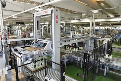 OCME PERSEUS Automatic Low Level Palletiser