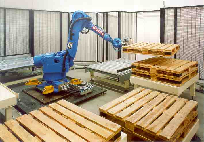 OCME Automatic Empty Pallet Inspection System