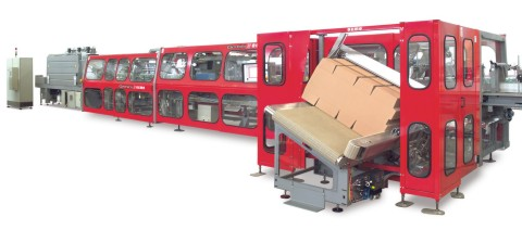 OCME GEMINI Combined Shrinkwrapper with Wraparound Packer